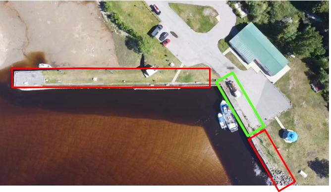 Fermeture accès piétonnier quai de Rivière-Pentecôte